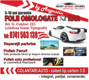 fluturasi auto glass design galati
